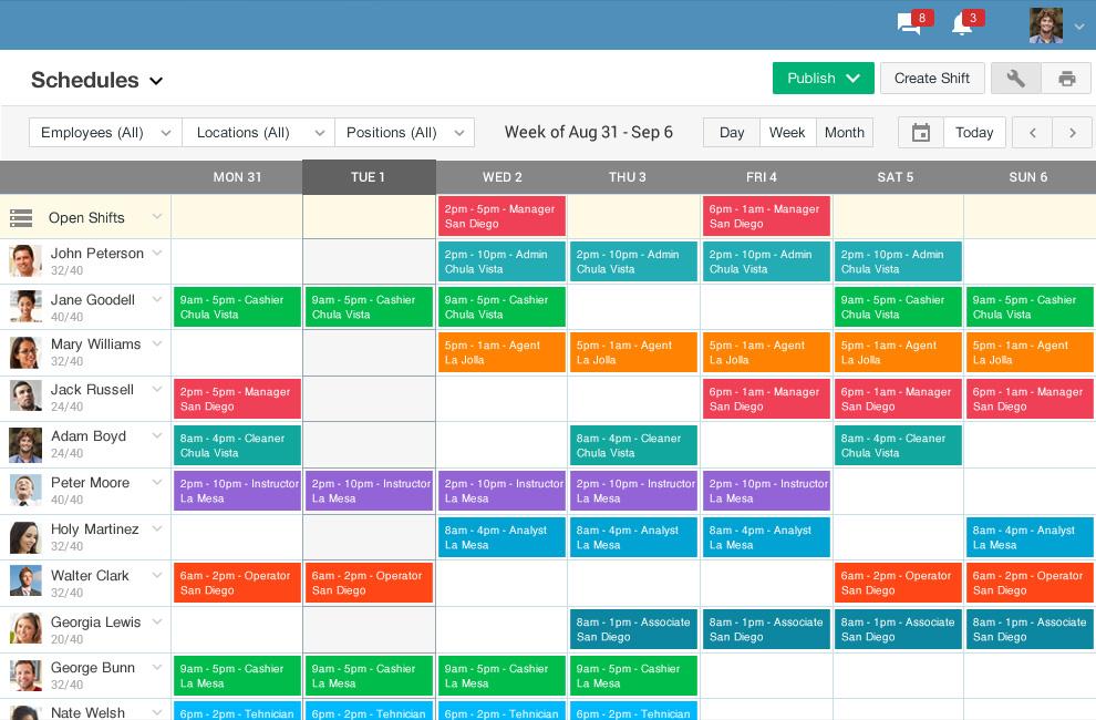 Online Schedule Builder