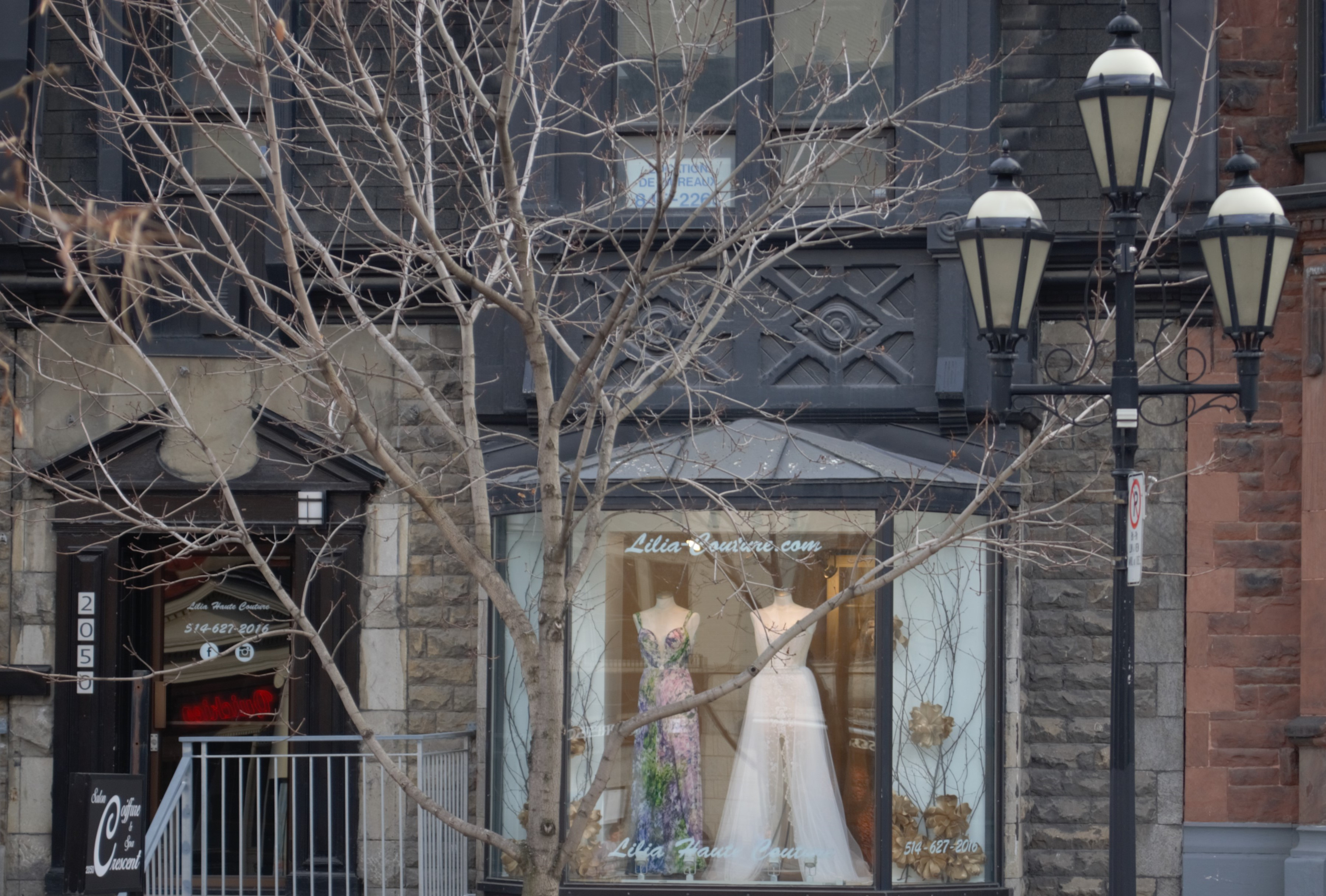 wedding dress montreal haute couture mariage lilia lace classic custom-made