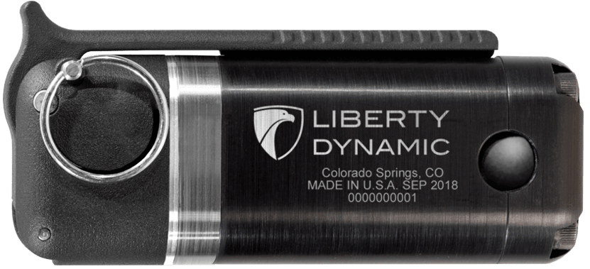 Liberty Dynamic Noise Flash Diversionary Device (NFDD) Flashbang Front View
