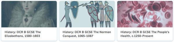 History Revision GCSE OCR B Course