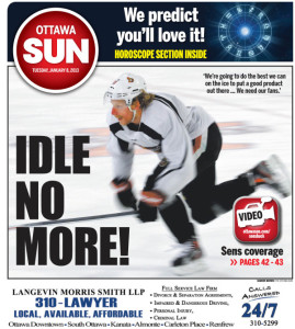Idle No More- SUN