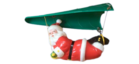 Paragliding Santa photo