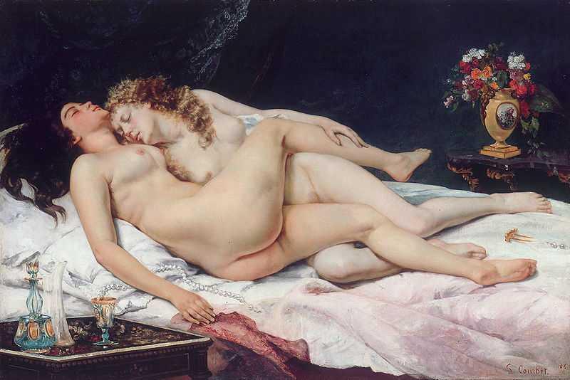 'Le Sommeil (Sleep)' by Gustave Courbet, 1866, Petit Palais, Musée des Beaux-Arts de la Ville de Paris