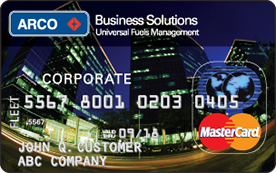 Arco business solutions card