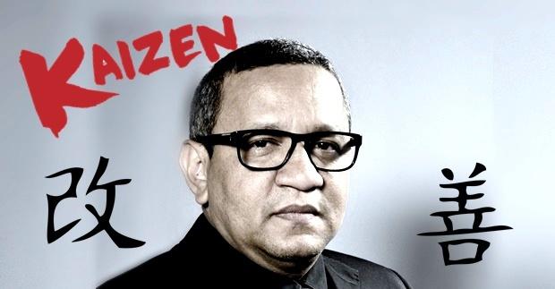 Helder Eugênio: Kaizen - hoje melhor do que ontem, amanhã melhor do que hoje
