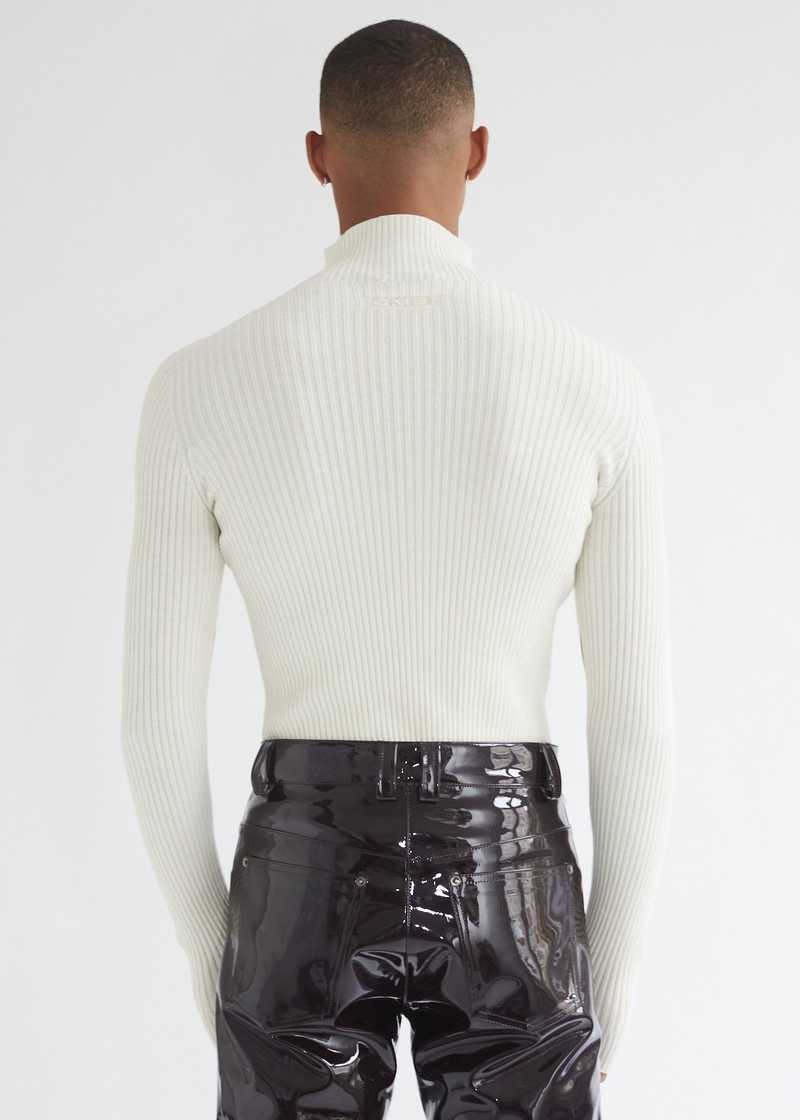 Leif Sweater Off-white back