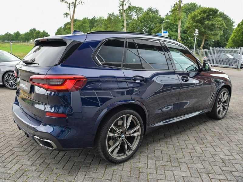 BMW X5 M50d M-Sportpakket Laser-LED H&K Pano Head-Up Swarovski Comf.Zetels 22-Inch! afbeelding 9