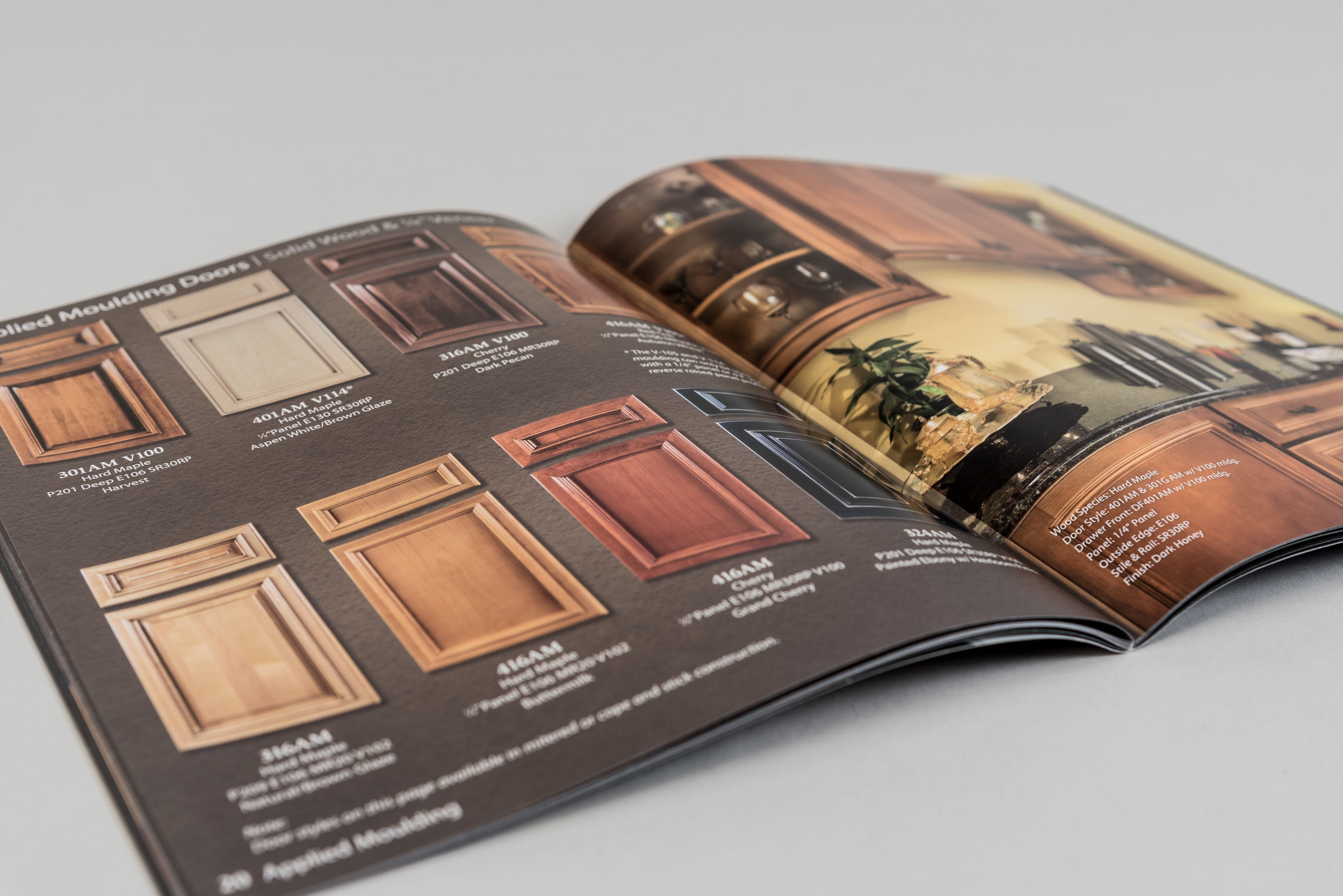 Valley Custom Door Product Catalog Spread 1