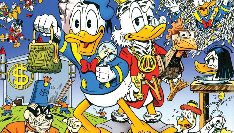 Imagem para a Biblioteca Don Rosa Tio Patinhas e Pato Donald