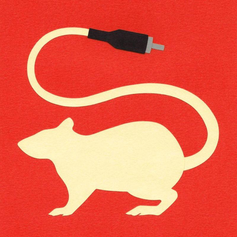 Фан-арт кроману Чайны Мьевиля «Крысиный король». Источник: deviantart.com