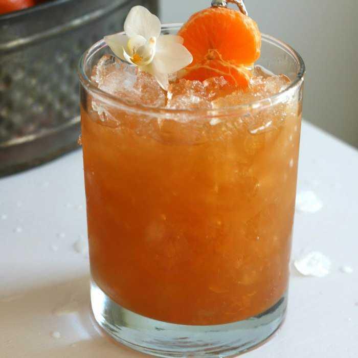 Rum Cobbler Cocktail
