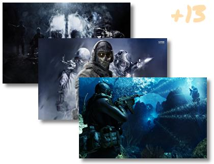 Call Duty Ghosts theme pack