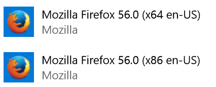 Firefox add remove programs