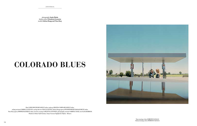 Elisabetta Cavatorta Stylist - colorado blues - Sonia Marin - Mia Le Journal