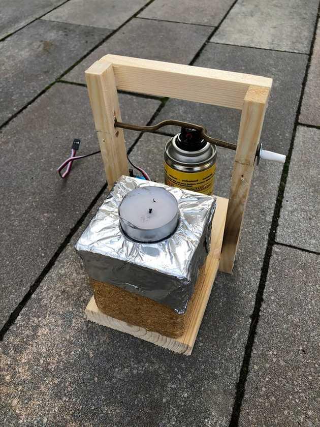 flamethrower mechanism