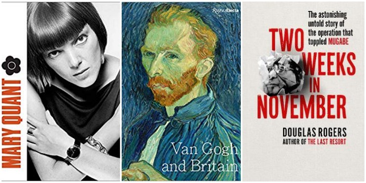 Mary Quant, Van Gogh and Britain, Two Weeks in November