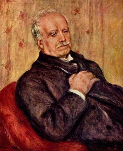 'Paul Durand-Ruel', by Pierre-Auguste Renoir, 1910