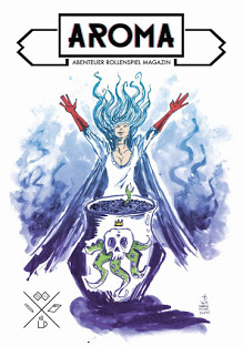 Das Cover von AROMA Nummer 1