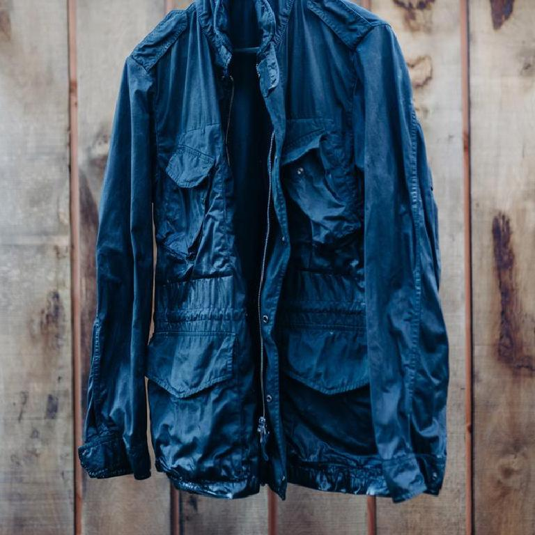 Indigo canadian field jacket
