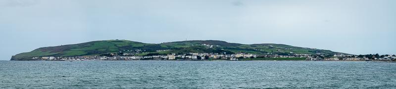 panorama, east of Port Saint Mary, Isle of Man, United Kingdom