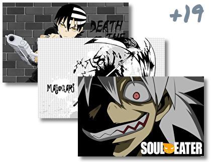 Soul Eater theme pack