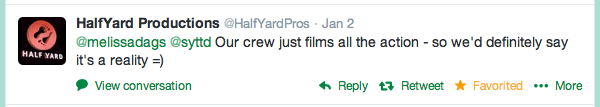 The response I got (in record time) from the Production Company that makes Say Yes to the Dress