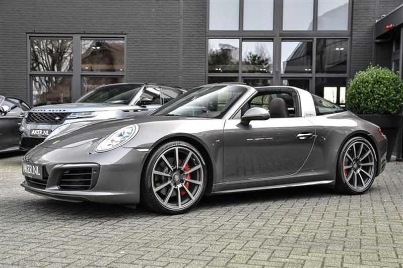 Porsche 911 TARGA 4S SPORT CHRONO+4WSTURING NP.201K afbeelding 24