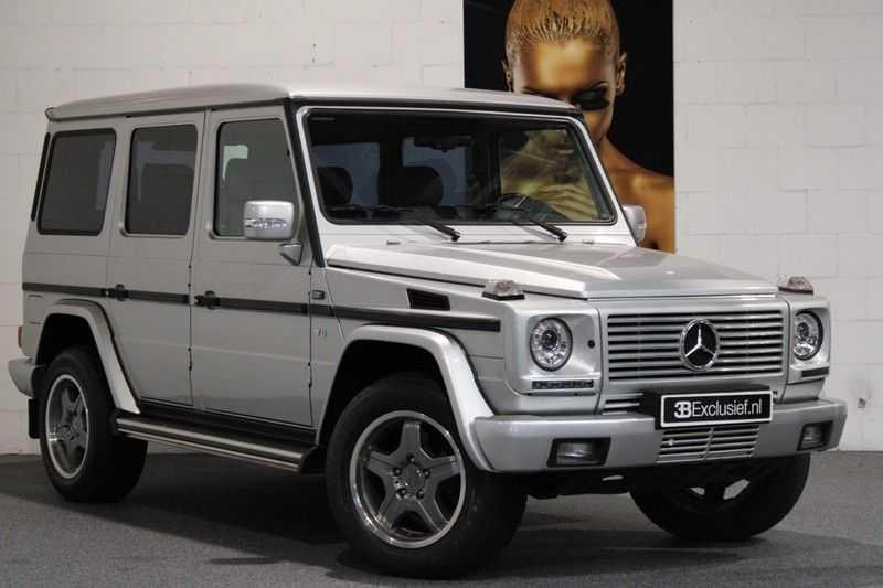 Mercedes-Benz G-Klasse 500 fabrieks 55-uitgev. Youngtimer aut. 7-zits afbeelding 23