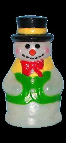 Snowman photo