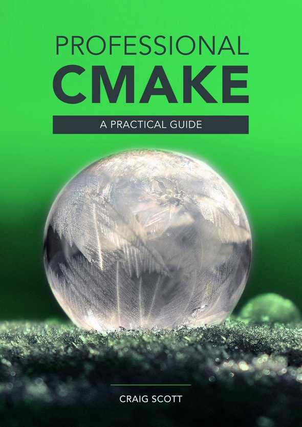 Professional CMake Front Cover