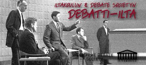 Debating in Finnish!
