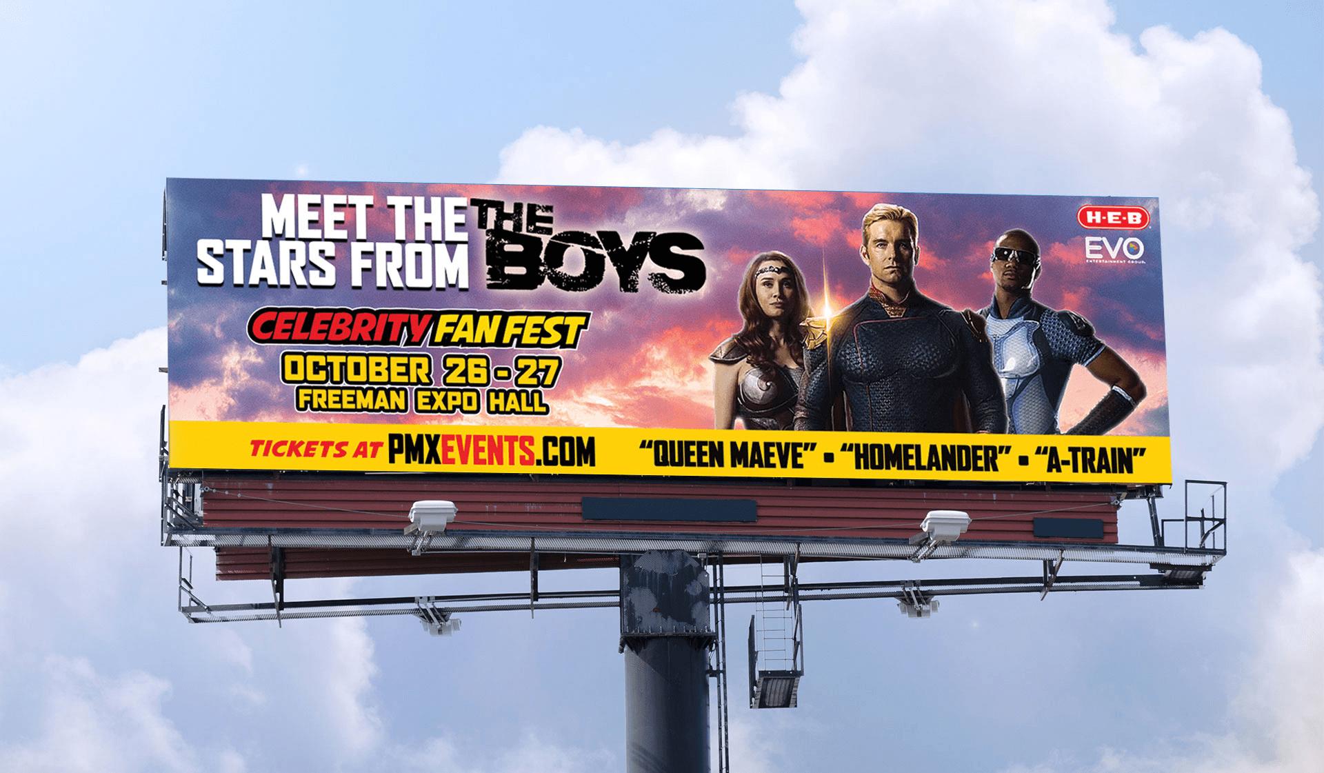 CFF The Boys Billboard