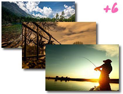 Spring Fishing theme pack