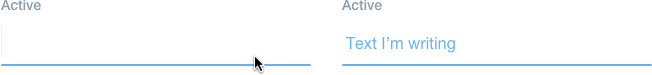 default active state