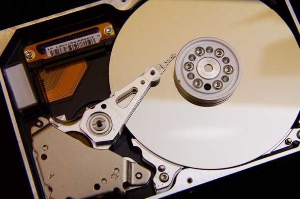 close-up van hdd