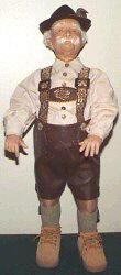 Karl Old German Man Doll