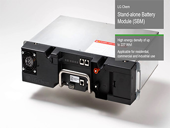 LG Chem standalone battery module
