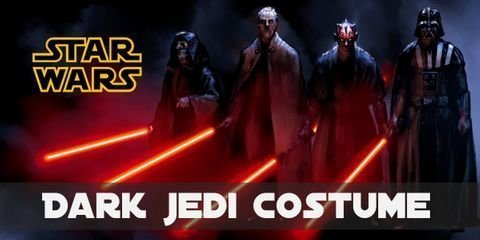 A dark Jedi's clothes is not quite a uniform, each character wears something different depending on their style