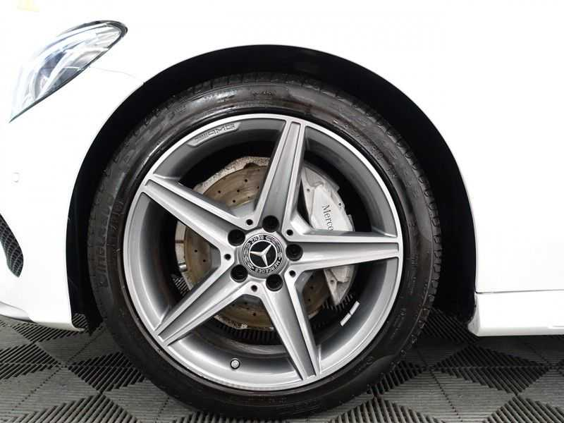 Mercedes-Benz C-Klasse Cabrio 180 Ultimate AMG Edition Aut- Leer, Navi, Led, LMV , 40dkm ! afbeelding 15