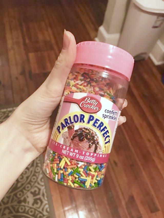 vegan Betty Crocker Parlor Perfect Confetti Sprinkles