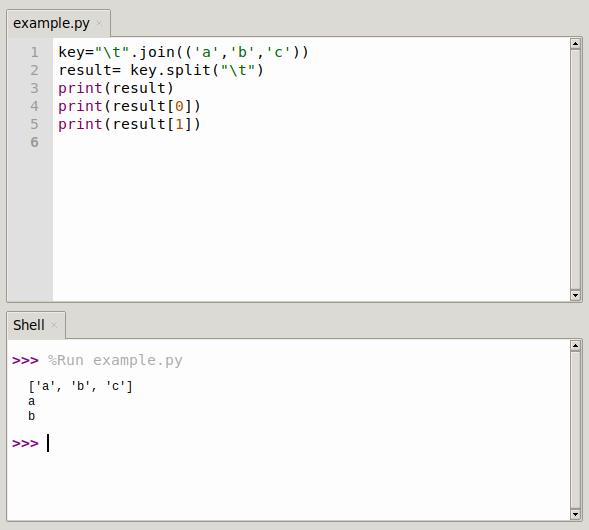 python string join() method