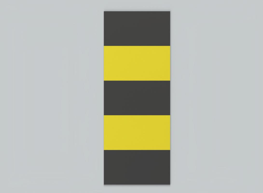 Clear Path Walkway Top Yellow