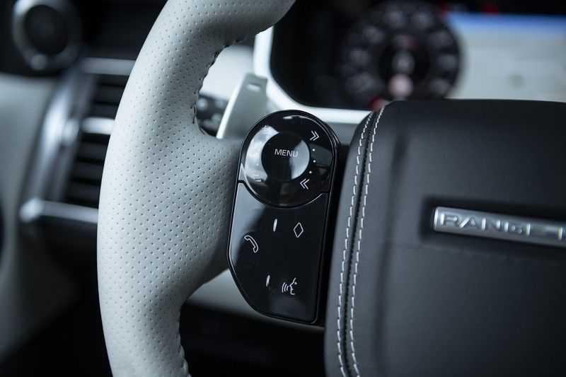"Land Rover Range Rover Sport P575 SVR Carbon SVR motorkap + Drive Pro Pack + Panoramadak + 22"" + Stoelkoeling + Head-Up + Stuurwielverwarming + Carbon interieur afbeelding 25"