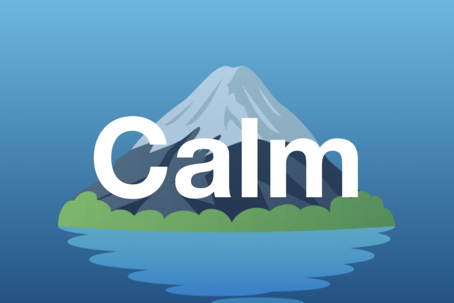 New channel: Calm