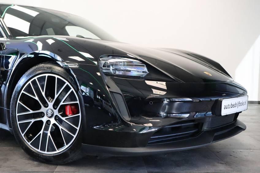 Porsche Taycan 4S Performance 571pk! | Prijs ex.btw 99000,- | Full-Led Sport-Chrono Panoramadak Warmtepomp afbeelding 3