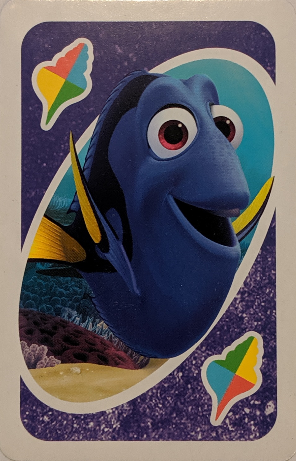 Finding Dory Uno (Just Keep Swimming Card)