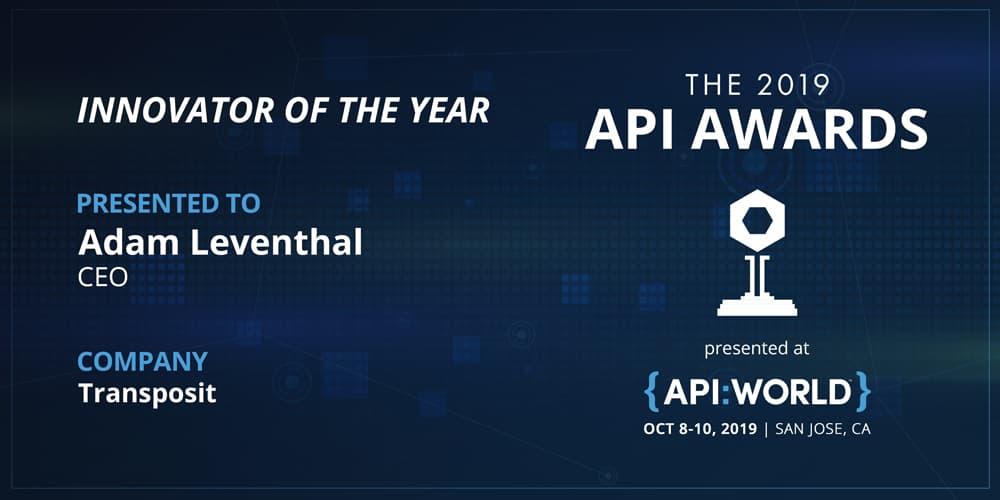 2019 API Awards Innovator of the Year: Adam Leventhal