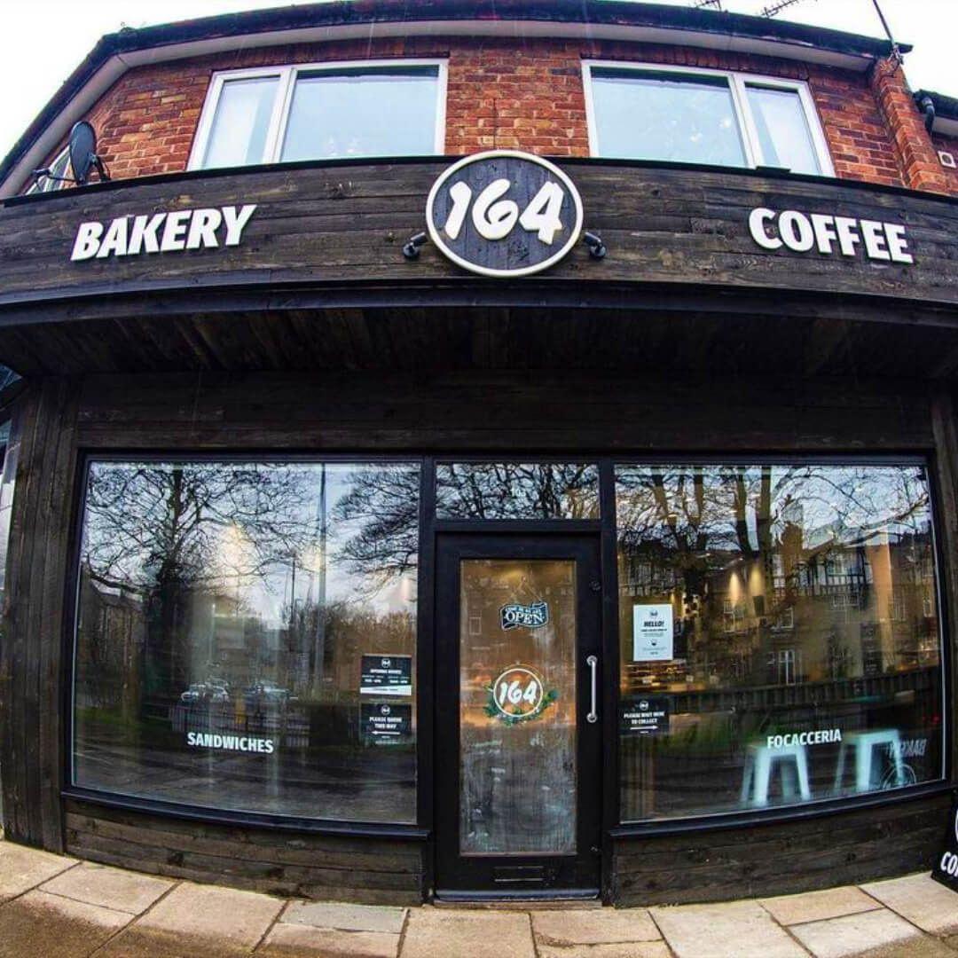 Front of Cafe 164 Headingley Leeds