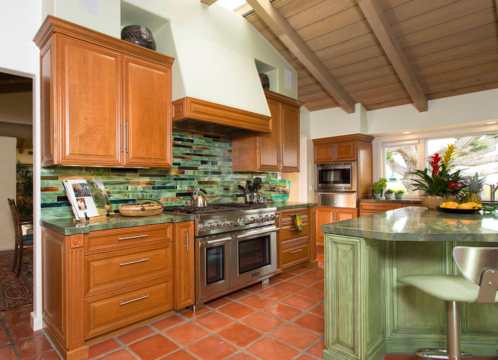 image of custom kitchen remodel in Scripps Ranch