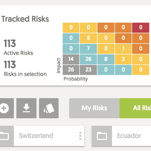 Risk Management upgrades